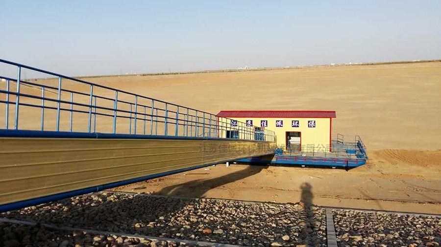 自然升降汲水浮坞泵站,自然升降汲水浮坞泵站结构